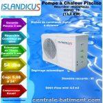 Pompe a chaleur islandicus mono 75