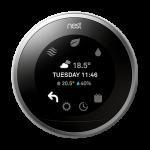 Thermostat nest et pompe à chaleur
