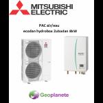 Mitsubishi pompe a chaleur air eau zubadan