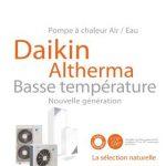Pompe a chaleur daikin altherma evolution 3