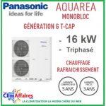 Panasonic pompe à chaleur air air