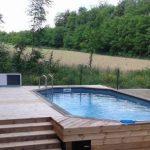 Installation pompe a chaleur piscine bois