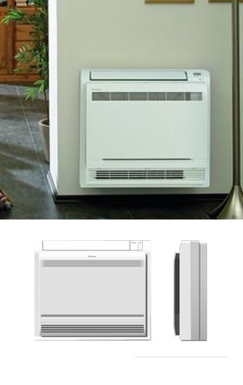 Console pompe à chaleur air-air