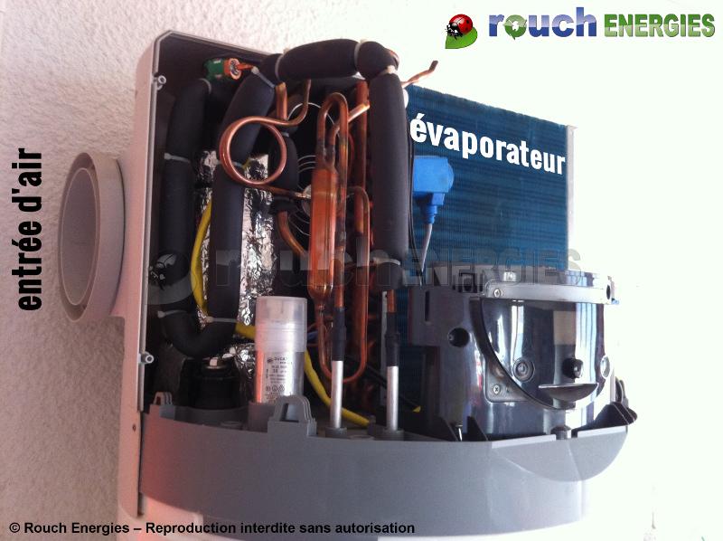 Pompe a chaleur chauffe eau thermodynamique