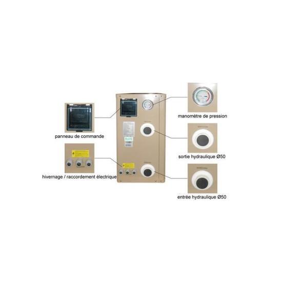 Commande pompe a chaleur wifi