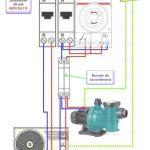 Schema electrique branchement pompe a chaleur piscine