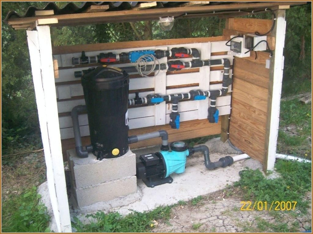Installation pompe a chaleur piscine waterair