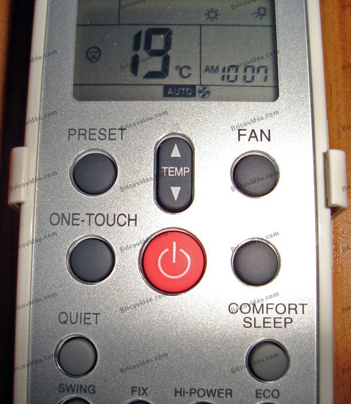 Réglage température pompe à chaleur