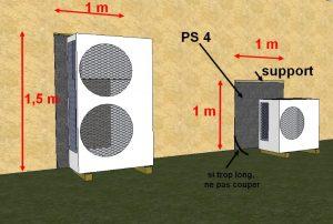 Pompe à chaleur air air et bruit