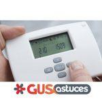 Thermostat radio pompe a chaleur