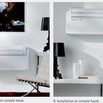 Climatiseur sans unite exterieure avec pompe a chaleur unico inverter 9hp