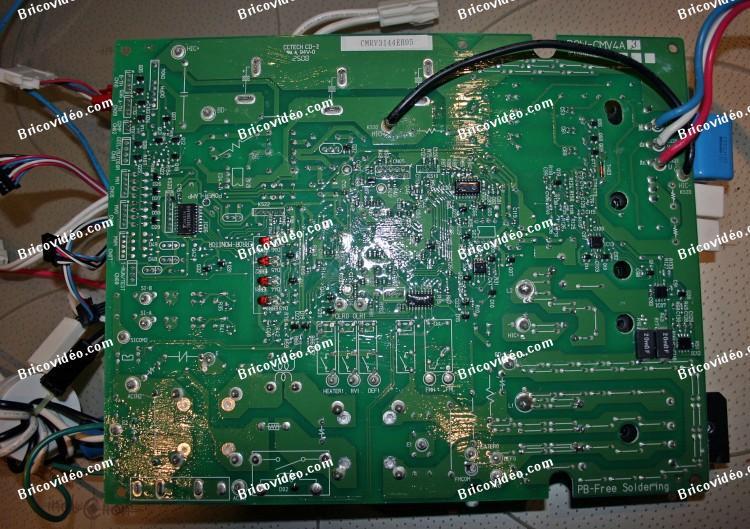 Carte electronique pompe a chaleur mitsubishi