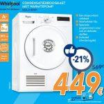 Sèche linge pompe à chaleur whirlpool hdlx 80311