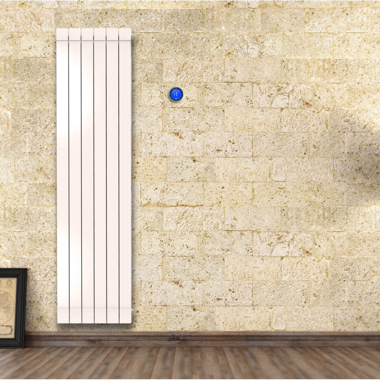 radiateur electrique a inertie vertical 1500w id e chauffage. Black Bedroom Furniture Sets. Home Design Ideas