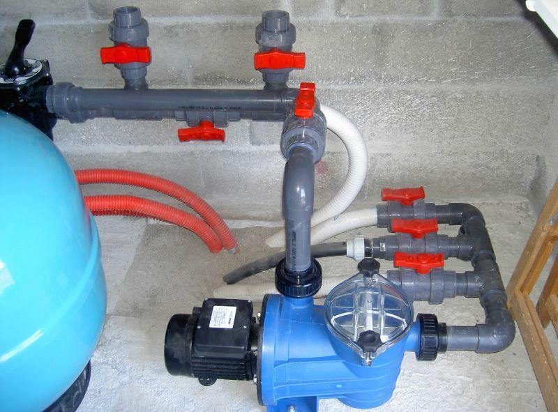 Pompe a chaleur dans local technique