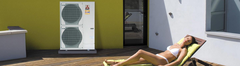 Installateur pompe a chaleur mitsubishi