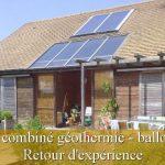 Chauffage solaire combiné pompe a chaleur