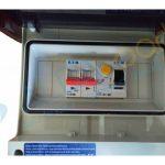 Coffret electrique pour pompe a chaleur