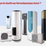 Chauffe eau thermodynamique avec pompe a chaleur