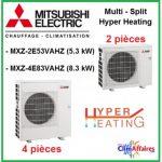 Avis pompe a chaleur mitsubishi hyper heating