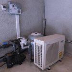 Pompe à chaleur dans local technique